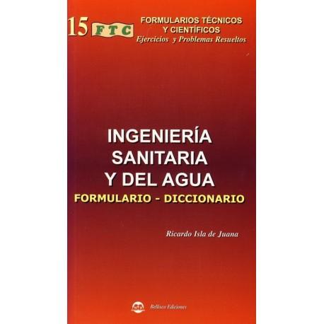 FTC- INGENIERIA SANITARIA Y DEL AGUA. Formulario-Diccionario