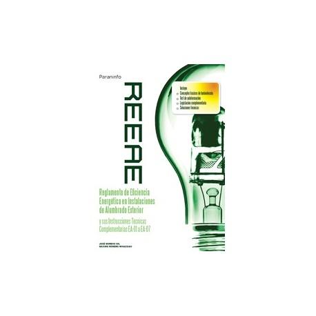REEAE. Reglamento de Eficiencia Energética en Instalaciones de Alumbrado Exterior