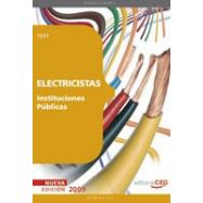 ELECTRICISTAS INSTITUCIONES PUBLICAS. Test