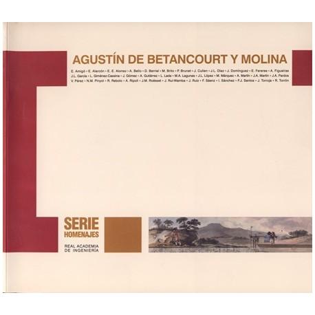 AGUSTIN DE BETANCOURT Y MOLINA. Edición Cartoné