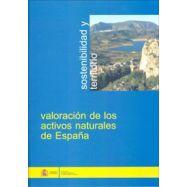 VALORACION DE LOS ACTIVOS NATURALES DE ESPAÑA