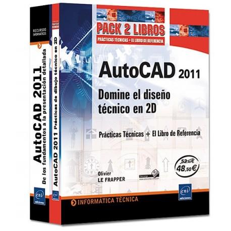AUTOCAD 2011. Domine el Diseño Técnico en 2D - Pack 2 Volúmenes