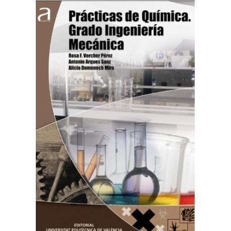 PRACTICAS DE QUIMICA. Grado de Ingeniería Mecánica