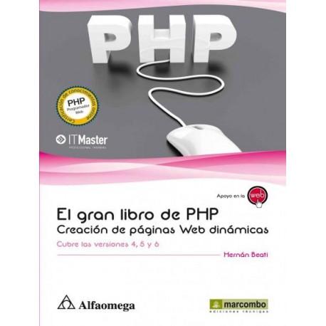 EL GRAN LIBRO DE PHP