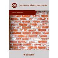 EJECUCION DE FABRICAS PARA REVESTIR