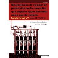 MANIPULACION DE EQUIPOS DE PROTECCION CONTRA INCENDIOS QUE EMPLEEN GASES FLUORADOS COMO AGENTE EXTINTOR