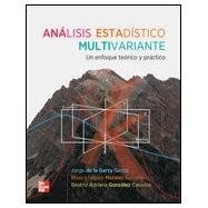 ANALISIS ESTADISTICO MULTIVARIANTE. Un Enfoque Teórico y Práctico
