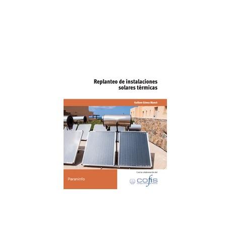 REPLANTEO DE INSTALACIONES SOLARES TERMICAS