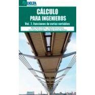 CALCULO PARA INGENIEROS . VOLUMEN 2. FUNCIONES DE VARIAS VARIABLES