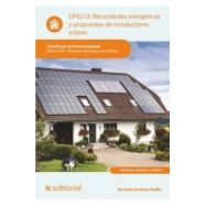 NECESIDADES ENERGETICAS Y PROPUESTAS DE INSTALACIONES SOLARES