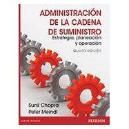ADMINISTRACION DE LA CADENA DE SUMINISTRO. Estrategia, Planeación y operación