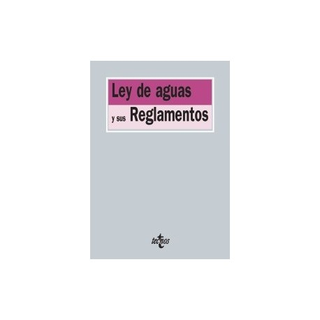 LEY DE AGUAS Y SUS REGLAMENTOS