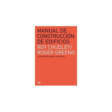MANUAL DE CONSTRUCCION DE EDIFICIOS. 3ª Edición revisada y ampliada