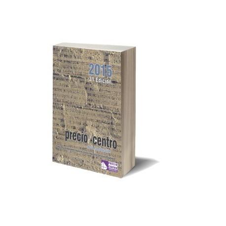 PRECIO CENTRO 2015 - Libro - 3 Tomos.