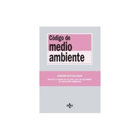 CODIGO DE MEDIO AMBIENTE