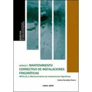 MANTENIMIENTO CORRECTIVO DE NSTALACIONES FRIGORIFICAS