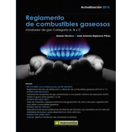 REGLAMENTO DE COMBUSTIBLES GASEOSOS