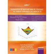 EMC2 - ELEMENTOS DEMATLAB PARA EL CALCULO EN VARIAS VARIABLES (Al menos 2)