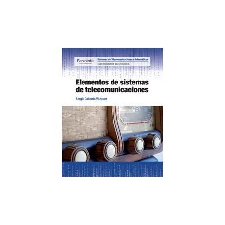 ELEMENTOS DE SISEMAS DE TELECOMUNICACIONES