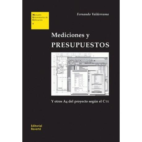 MEDICIONES Y PRESUPUESTOS. Edición 2010 actualizada y aumentada