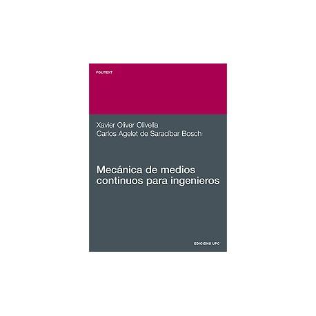 MECANICA DE MEDIOS CONTINUOS PARA INGENIEROS
