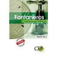 FONTANEROS.INSTITUCIONES PUBLICAS.Temario- Volumen 2