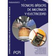 TÉCNICAS BÁSICAS DE MECÁNICA Y ELECTRICIDAD