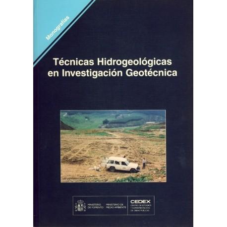 TECNICAS HIDROGEOLOGICAS EN INVESTIGACION GEOTECNICA (M78)