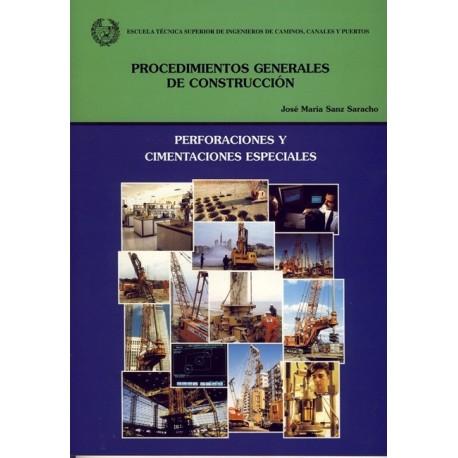 PERFORACIONES Y CIMENTACIONES ESPECIALES