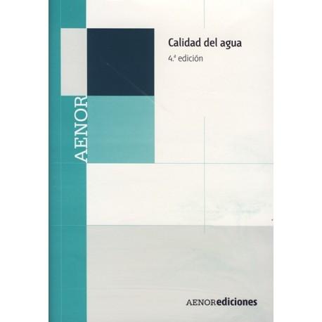 CALIDAD DEL AGUA - 4ª Edición (CD-Rom)
