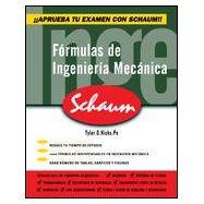 FORMULAS DE INGENIERIA MECANICA