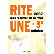 RITE 2007 + RESUMEN NORMAS UNE 5ª Edición 2016