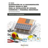 ELABORACION DE LA DOCUMENTACION TECNICA SEGÚN EL REBT - UF0888