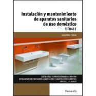 INSTALACION Y MANTENIMIENTO DE APARATOS SANITARIOS DE USO DOMESTICO (UF0411)
