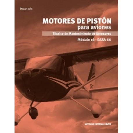 MOTORES DE PISTON PARA AVIONES. Módulo 16