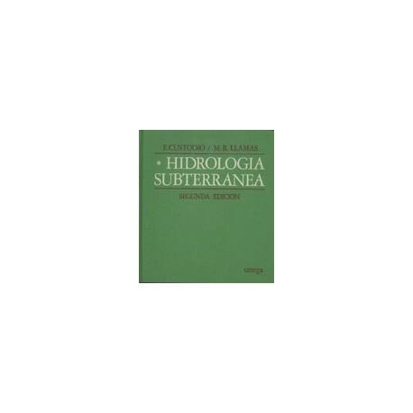 HIDROLOGIA SUBTERRANEA- Volumen 1