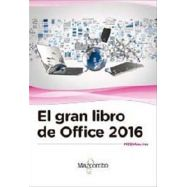 EL GRAN LIBRO DE OFFICE 2016