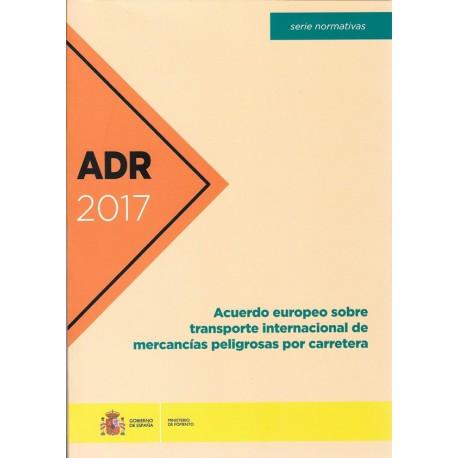 ADR 2017 - Acuerdo Europeo sobre Transporte Internacional de Mercancías
