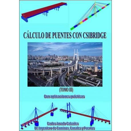 CÁLCULO DE PUENTES CON CSIBRIDGE. OBRA COMPLETA 3 TOMOS