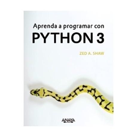Libro APRENDA A PROGRAMAR CON PYTHON 3 ISBN:9788441539419