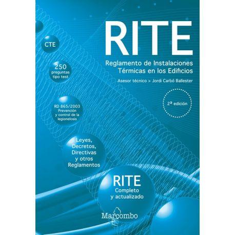 RITE. Reglamento de Instalaciones Térmicas en los Edificios - 2ª Edición