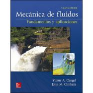 MECANICA DE FLUIDOS. Fundamentos y Aplicaciones - 4ª Edición