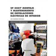 UF 0887 MONTAJE Y MANTENIMIENTO DE INSTALACIONES ELÉCTRICAS DE INTERIOR