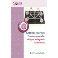 ANÁLISIS ESTRUCTURAL. PROBLEMAS RESUELTOS DE LEYES Y DIAGRAMAS DE ESFUERZOS