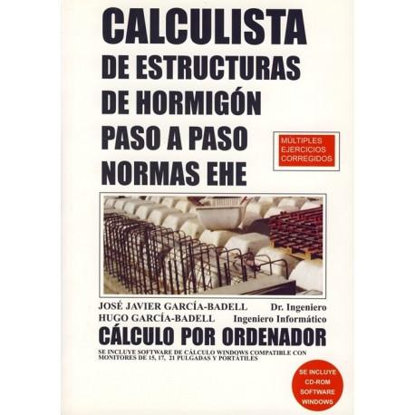 CALCULISTA DE ESTRUCTURAS DE HORMIGON PASO A PASO. Programa Informático