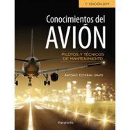 CONOCIMIENTOS DEL AVION - 7ª edición 2019