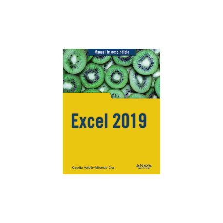 EXCEL 2019. Manual Imprescindible