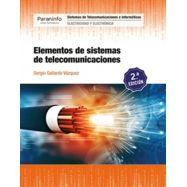 ELEMENTOS DE SISTEMAS DE TELECOMUNICACIONES - 2ª EDICIÓN 2019