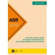 ADR 2019. Acuerdo Europeo sobre Transporte Internacional de Mercancías