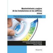 UF0568 - MANTENIMIENTO Y MEJORA DE LAS INSTALACIONES EN LOS EDIFICIOS